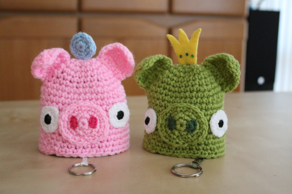 Piggy Key Cozy Sleutelhoes Varkentje New Leaf Designs