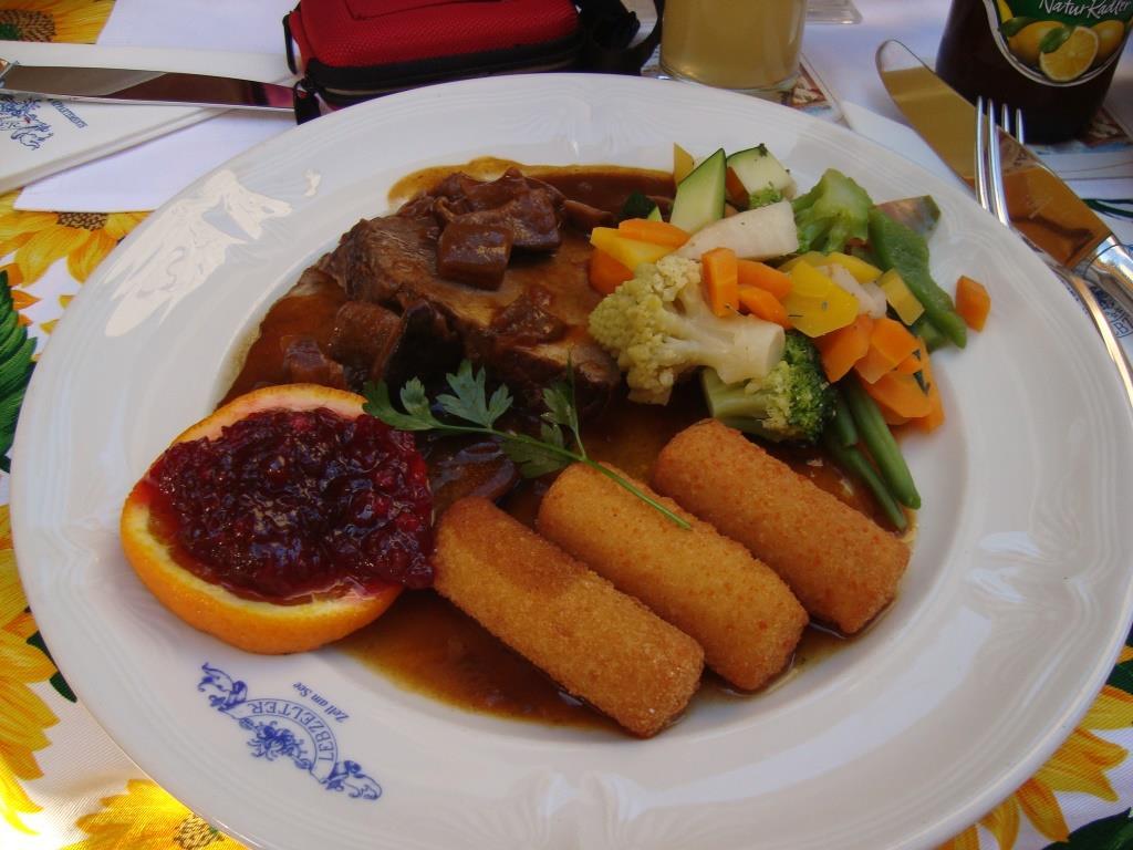 Oostenrijkse maaltijd