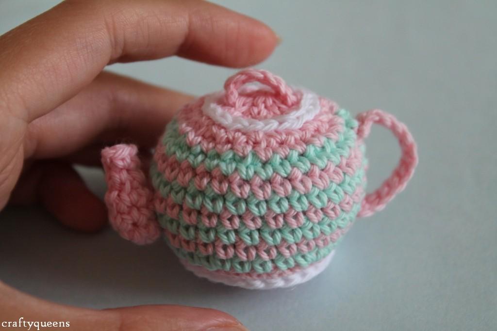 Tea For Two Crochet Teapot Pattern New Leaf Designs