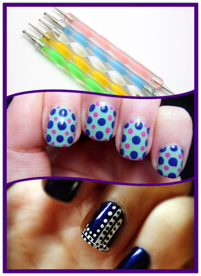 dotting nail art1