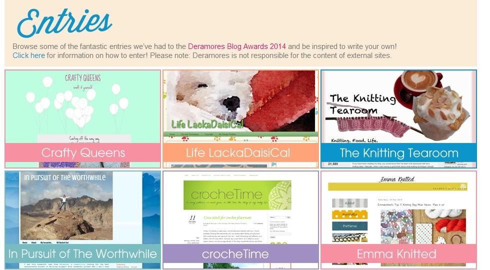 Deramores blog awards