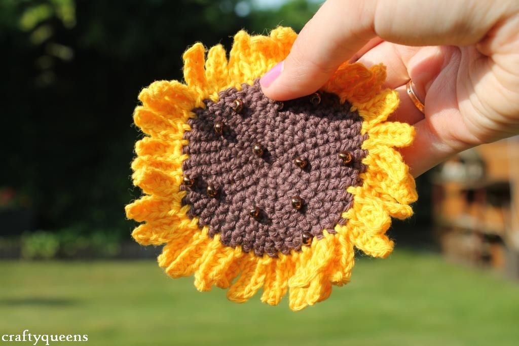 New Diy Crochet Sunflower New Leaf Designs