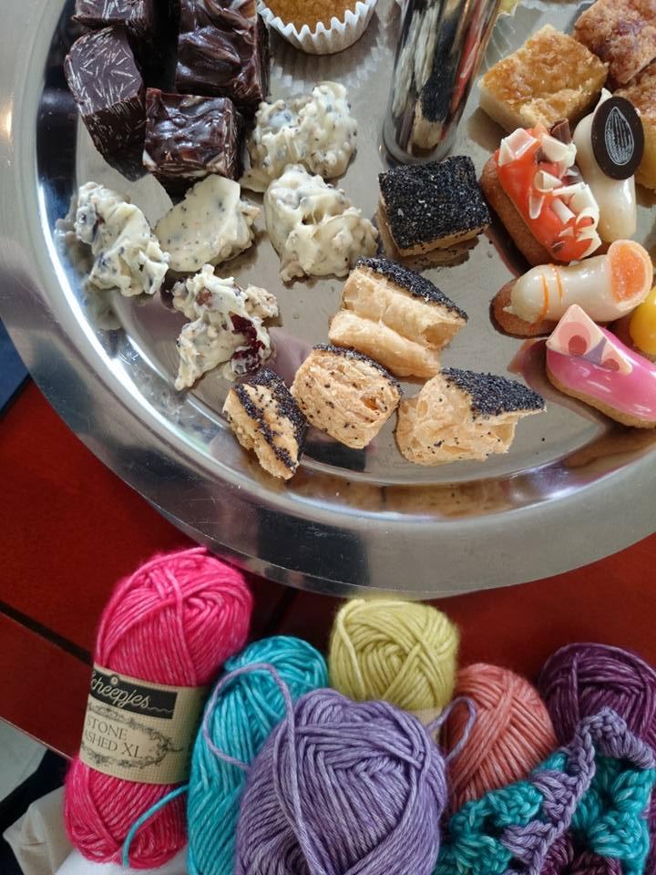 yarn and high tea