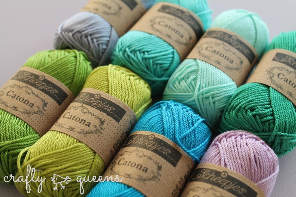 Catona yarn by Scheepjes