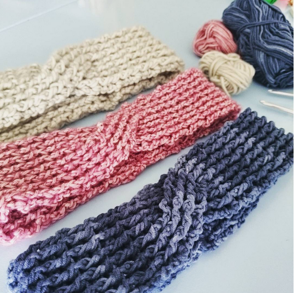 Crochet rib turban2