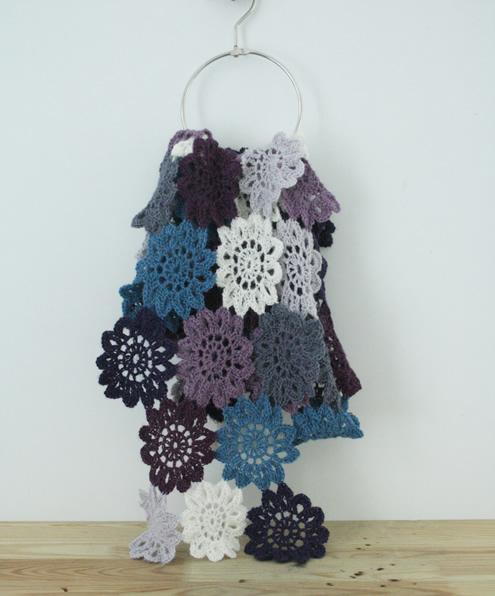 HappyInRed japanese shawl