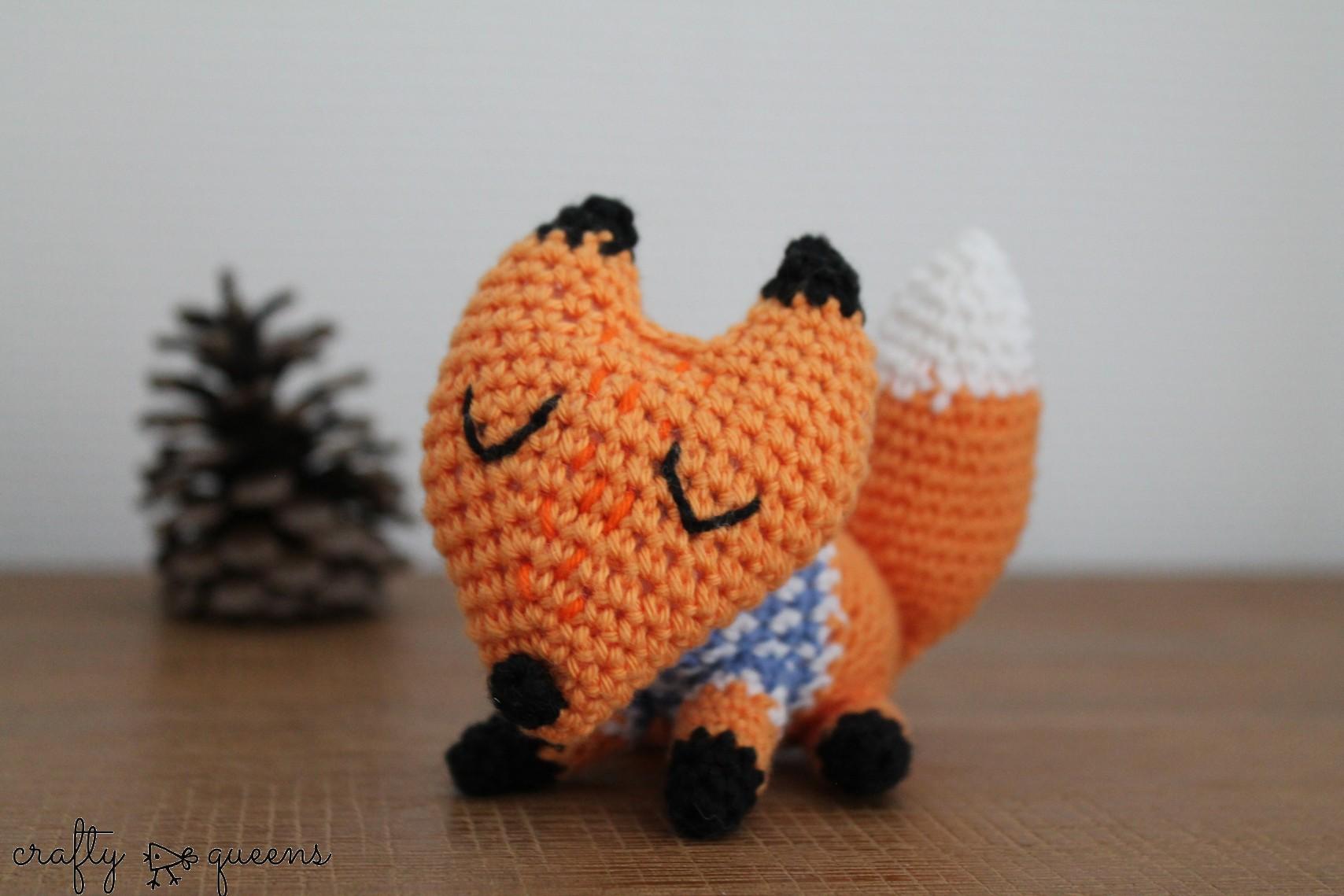 Jean Claude the Fox by Crafty Queens