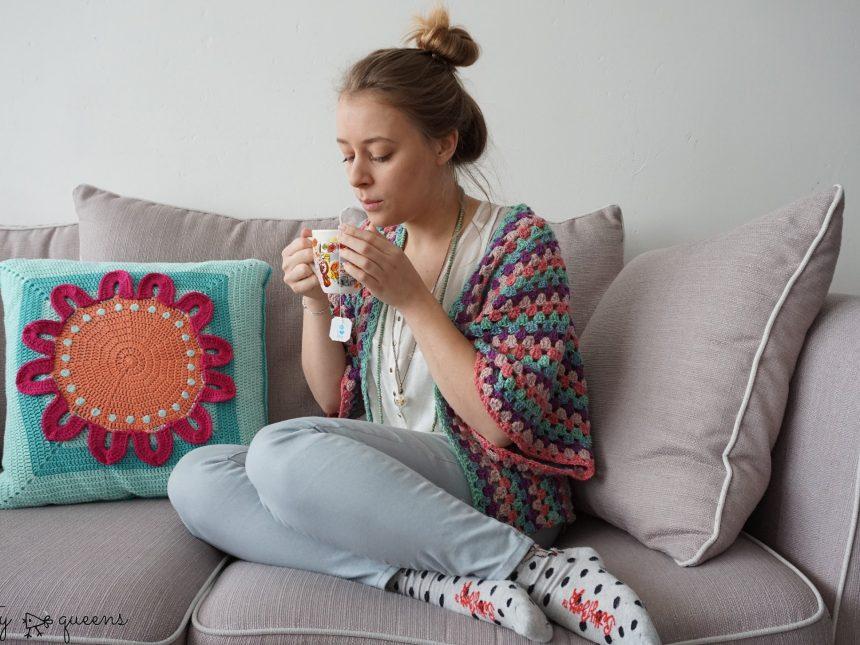 easy crochet cardigan