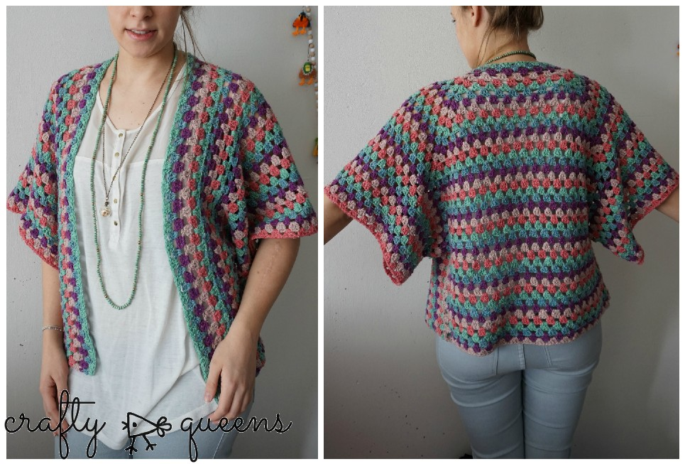 easy crochet cardigan