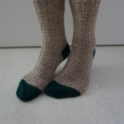 simple socks knitting pattern