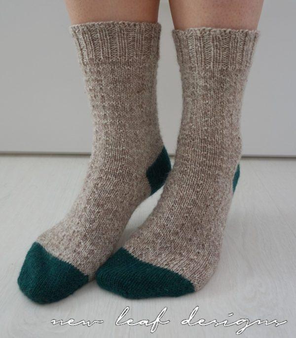 simple sock knitting pattern