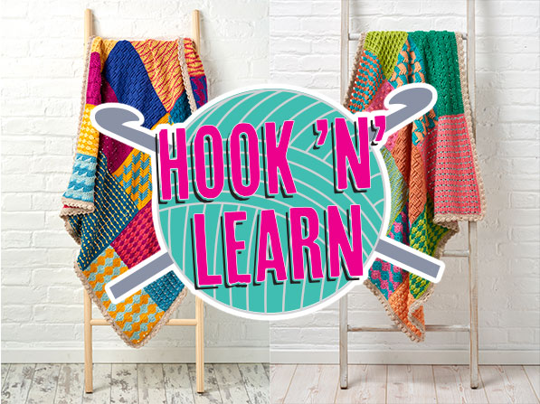 Simply Crochet Hook N Learn Cal New Leaf Designs