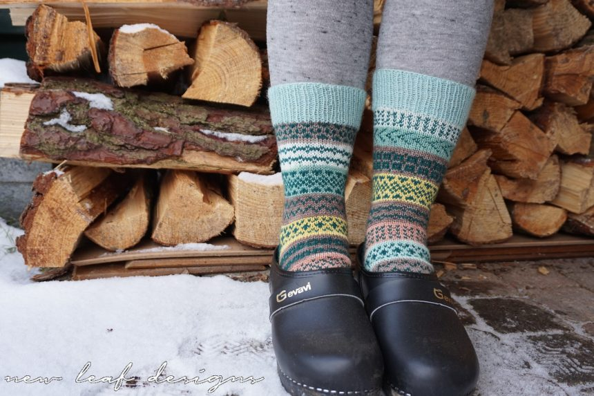 colourwork socks