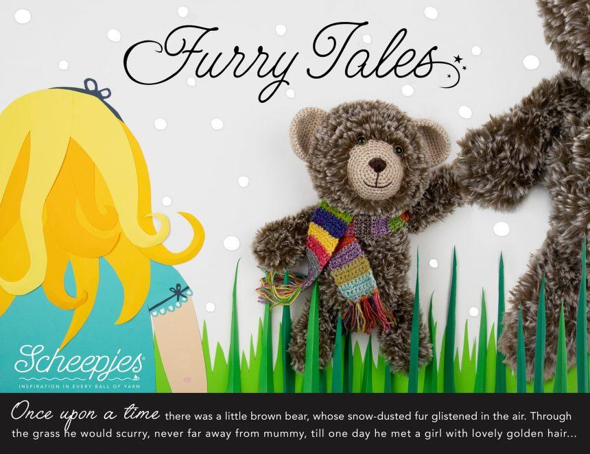 little bear pattern furry tales