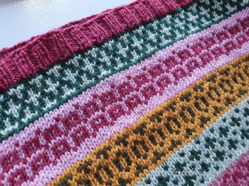 colourwork knitting fabric