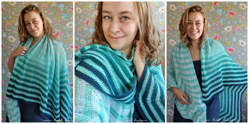 chevron boulevard shawl